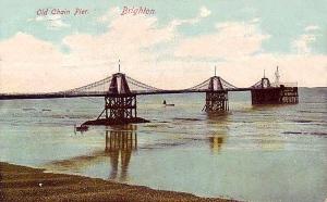 Sussex, Brighton, Old Chain Pier 1890's