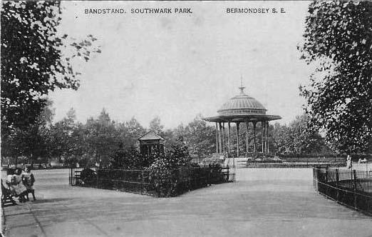 Bandstand Southwark Park